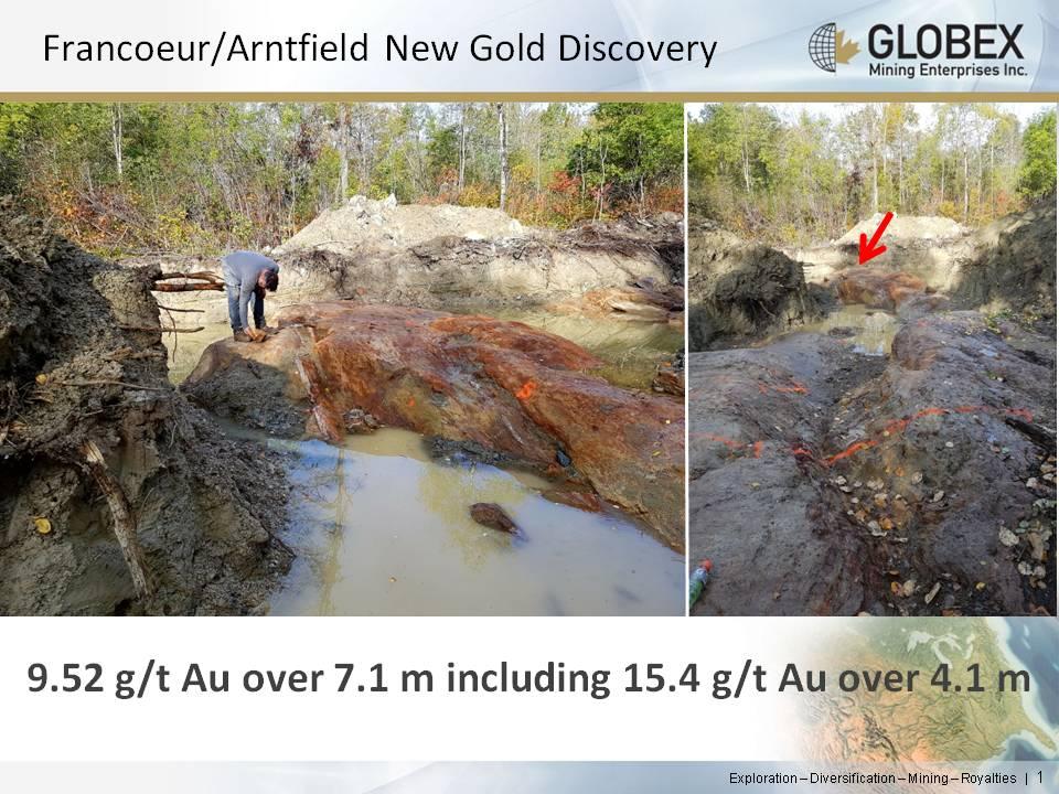 Arntfield outcrop 2017
