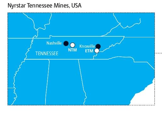 Nyrstar Tennessee Mines