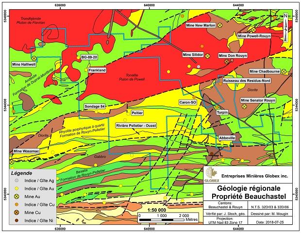 Beauchastel Regional Geology