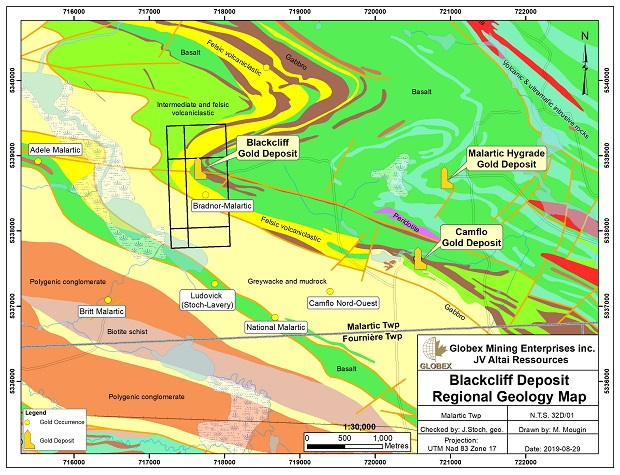 Blackcliff Regional Geology