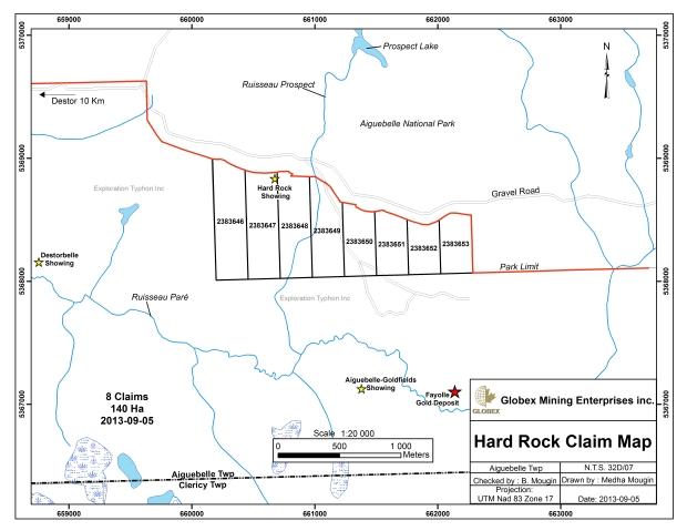 Hard Rock Claim List Globex
