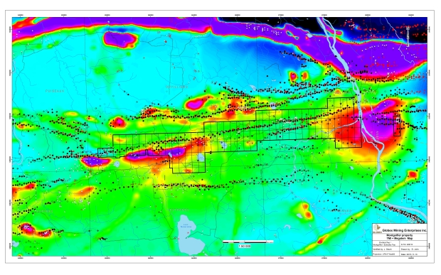 Montgolfier geophysical map TM1 - november 2015