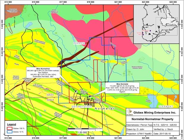 Normetal-Normetmar 2017 Geology