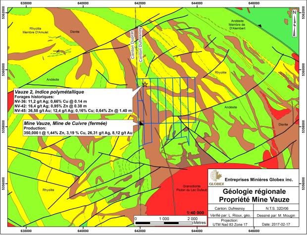 Vauze Geology 2017